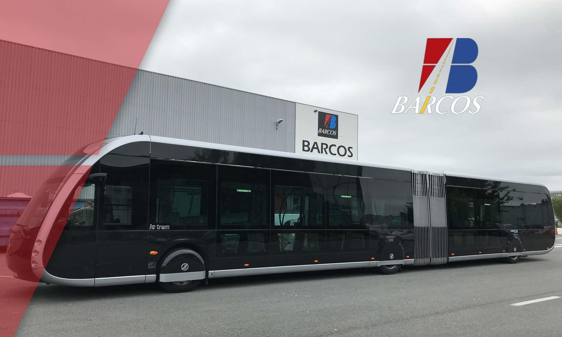Test de lestage du trambus Bayonne-Biarritz